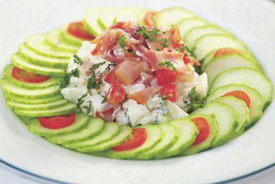 salad dua leo