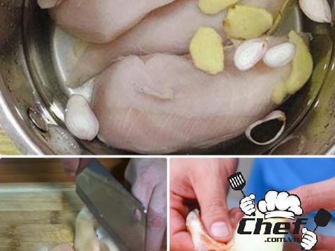 Cách làm xúc xích gà lowcarb cho người ăn kiêng
